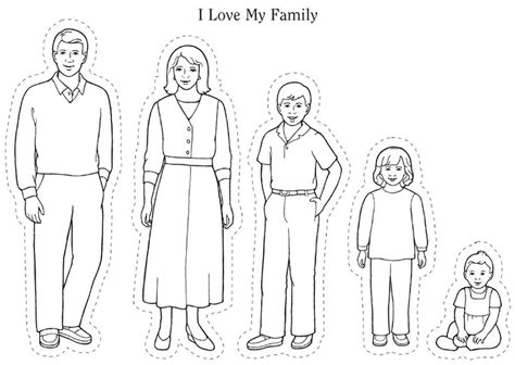 coloring pages god s family coloring pages of family members murderthestout