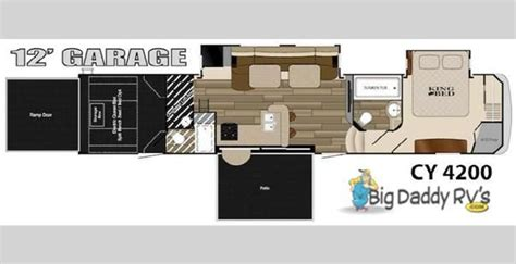 cyclone 4200 floor plan 5th wheel 2 bathroom with r floor plans new 2015