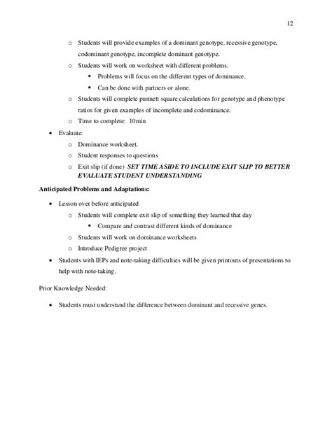 Codominance Incomplete Dominance And Epistasis Worksheet Answer Key