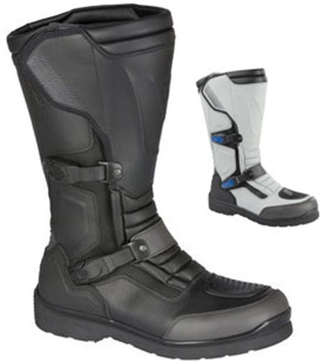 Bmw Motorrad Santiago Boots by Dual Sport Adventure Touring Motorcycle Boot Review By