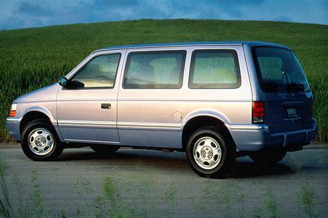 how petrol cars work 1993 dodge caravan instrument cluster 1991 95 dodge caravan consumer guide auto