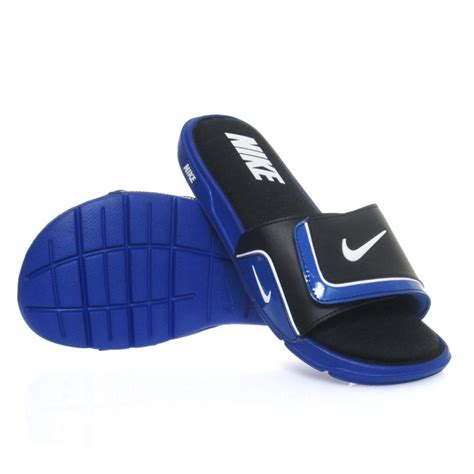 nike comfort slide buy nike mens comfort slide 2 royal black slashsport shop