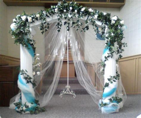 wedding arches columns yushan s vintage indoor wedding receptions navy blue letterpress wedding invitations