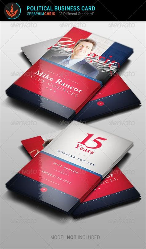 Political Caign Business Card Templates by Political Business Card Template 2 Card Templates