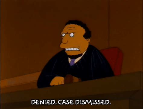 Suit Dismissed By La Judge by Season 3 Gif Find On Giphy