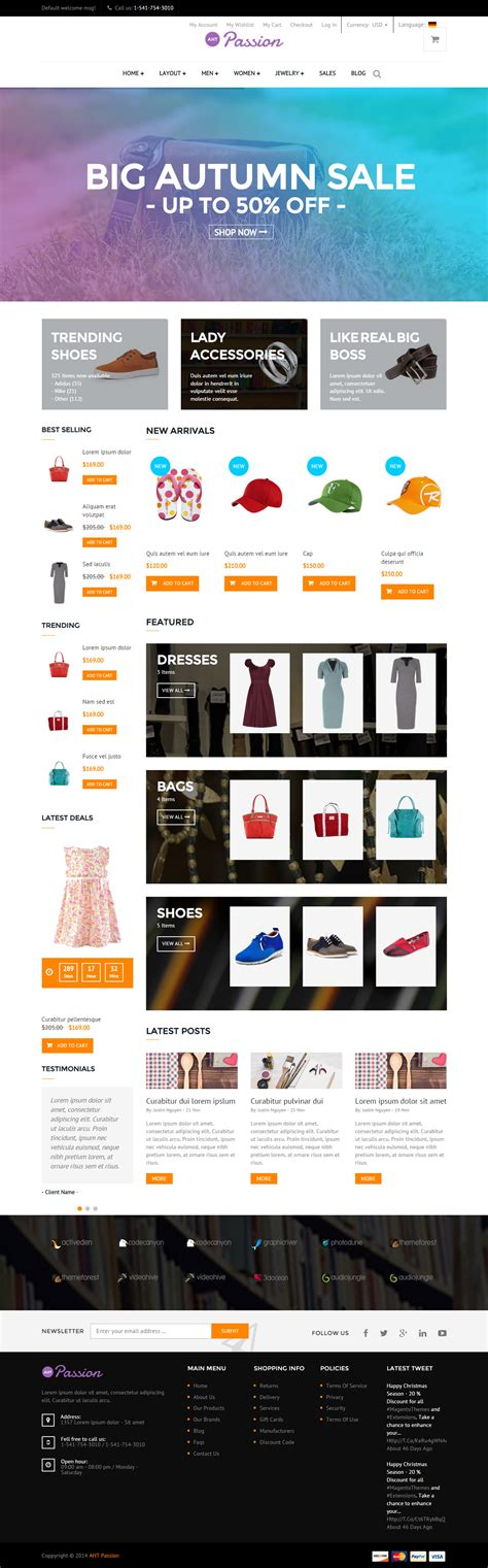 magento bootstrap themes free 5 best responsive magento bootstrap themes in 2015