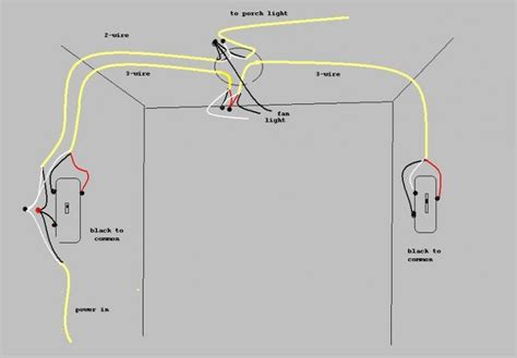 ceiling fan 3 way switch wiring diagram get free image