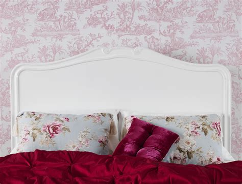 double bed headboard ebay juliette shabby chic white double bed stunning wooden