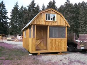 cut sheds barn style