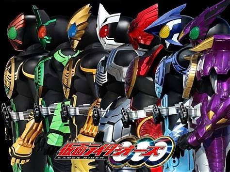 ooo s ooo all transformation tokusatsu wallpaper