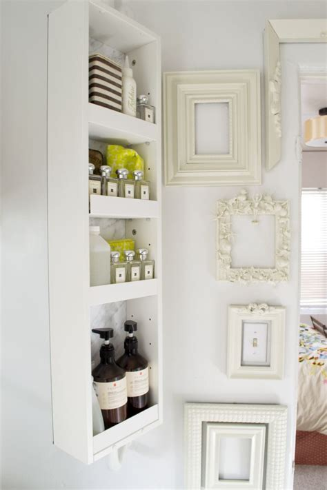 small bathroom storage ideas craftriver bathroom narrow shelves for bathroom storage cabinet