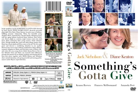something s something s gotta give movie dvd custom covers 10s