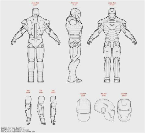 iron suit template 17 best paper craft iron images on