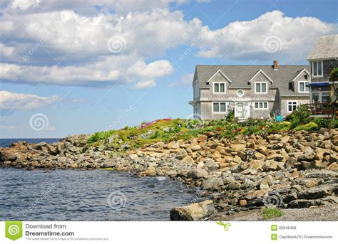 home near the sea royalty free stock photos image 22649458