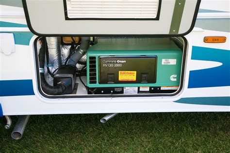 rv generator compartment pictures to pin on