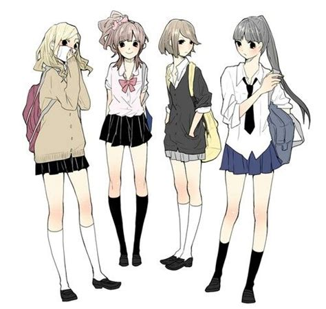 anime uniform school uniforms ideas for drawing clothes pinterest
