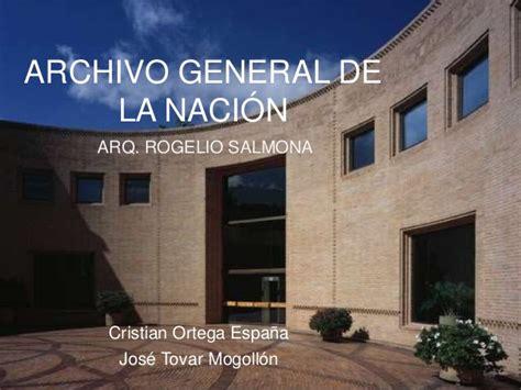 archivo general de la nacion archivo general de la archivo general de la naci 243 n