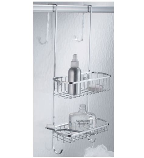 stainless steel door shower caddy stainless steel shower door organizer in shower caddies