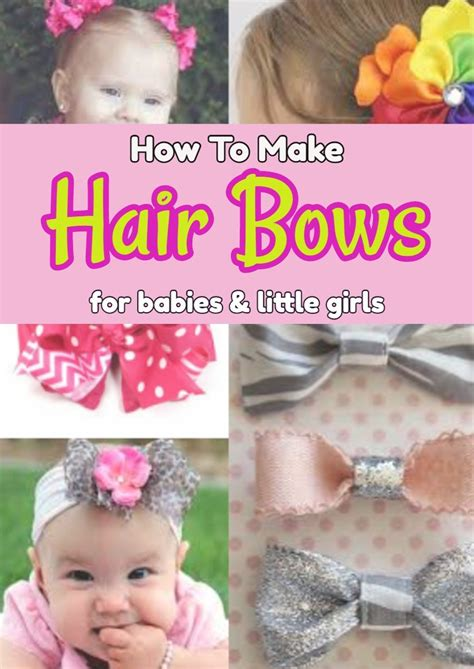 how to make a baby how to make hair bows for babies involvery community blog