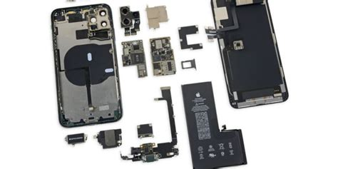 ifixits iphone  pro max teardown finds higher capacity