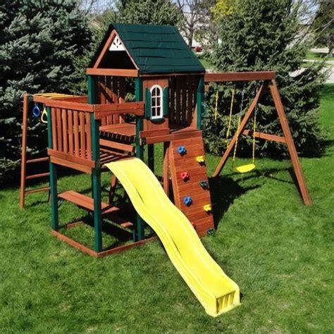swing n slide chesapeake outdoor wooden play sets online stores swing n slide