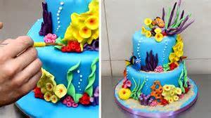 Finding Nemo Cake   How To Make by CakesStepbyStep   YouTube