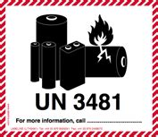 Un 3481 Aufkleber Download by Iata Dgr Handling Labels