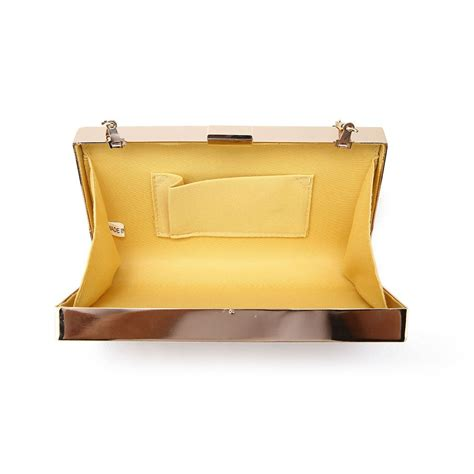 womens clutch bags c womens new glitter faux leather frame box hard compact