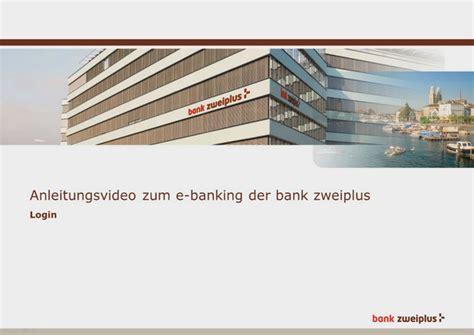 bank zweiplus privatkunde e banking