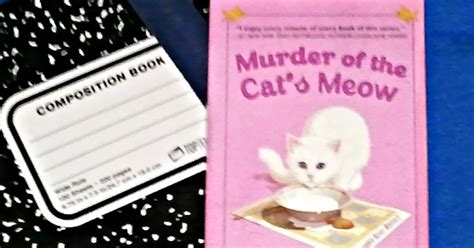 purr m for murder a cat rescue mystery books here s my take on it book review murder of the cat s meow