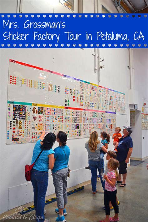 Sticker Factory Petaluma mrs grossman s sticker factory tour store in petaluma ca