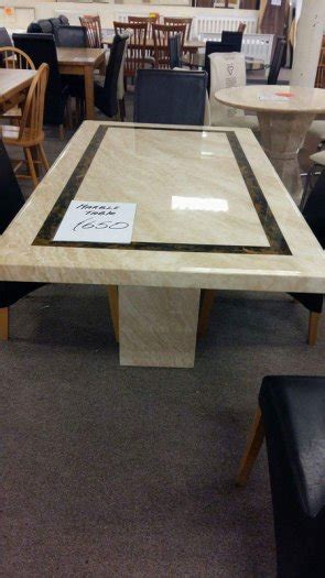 Marble Effect Dining Table Marble Effect Dining Table For Sale In Ballincollig Cork From Mariecrowley2