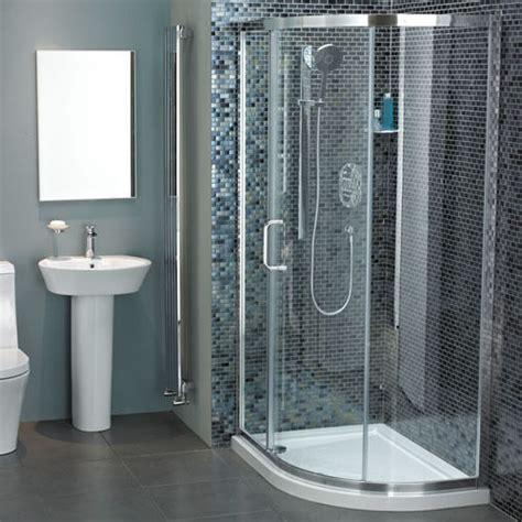 Atlas Shower Doors Atlas Offset Quadrant With One Sliding Door 1100 X 800 Bathstore