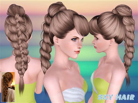 sims 3 resource hair skysims hair 247set