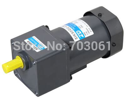 ac induction gear motor 90w 50hz ac induction gear motors single phase micro gear reduction motors 220v 200rpm ratio 9 1