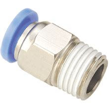 Pv 12 Fitting Pneumatic Selang 12 Mm X 12 Mm 10mm tubing 1 4 npt thread push to connect fittings