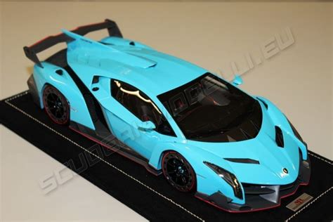 Blue Lamborghini Veneno Mr Collection 2013 Lamborghini Lamborghini Veneno Baby