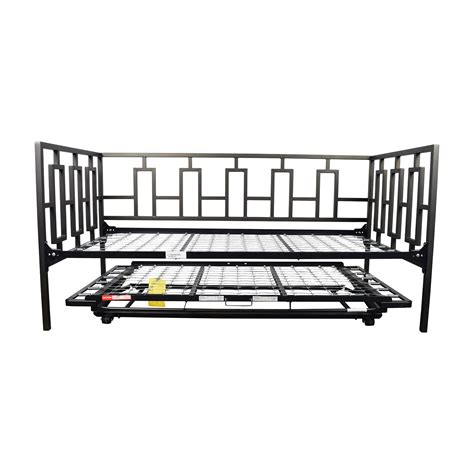 65 macy s macy s black metal framed day bed