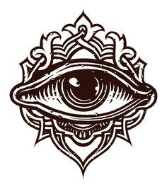 third eye tattoo on finger moved permanently