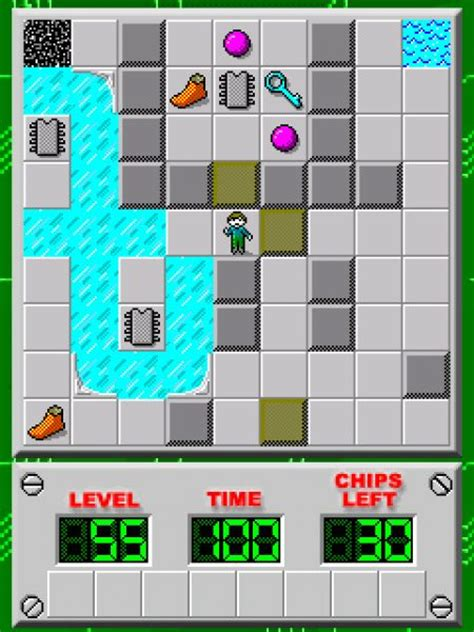 chips challenge free pocket chip s challenge freegamearchive