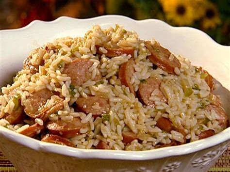 Campbell Kitchen Recipe Ideas dirty rice with smoked sausage recipe the neelys food
