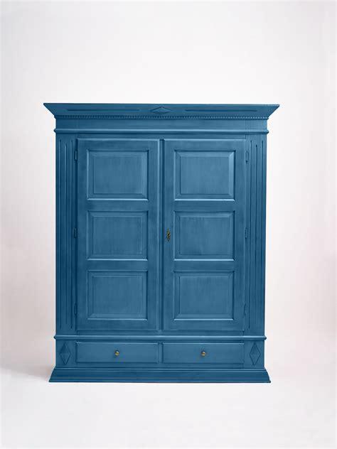 kleiderschrank fichte kleiderschrank fichte massiv blau lackiert mativa4