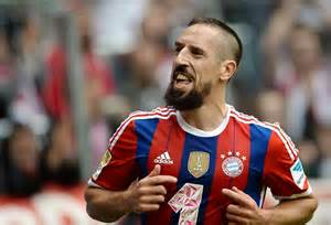 Franck ribery sets new record with jubilee goal bayern news