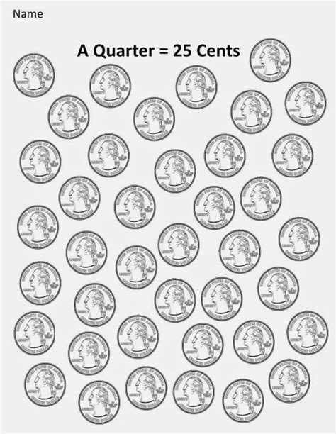 printable state quarter list kindergarten and mooneyisms coins part four a quarter