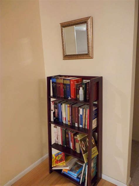 Pier 1 Folding Bookcase 7 Thrift Takes Needs Coffee