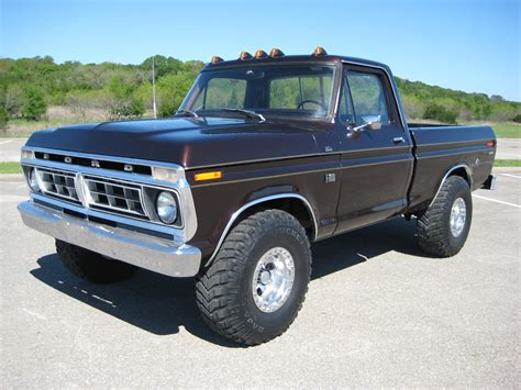 1976 Ford F100 by 1976 F100 4x4 Autotrends