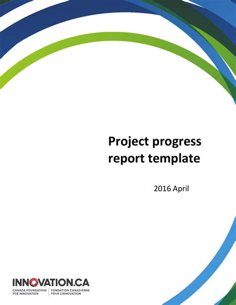 project report word template project summary templates free premium