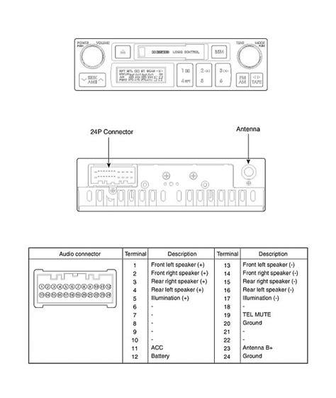 2002 kia spectra radio wiring diagram wiring diagram