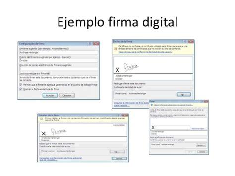 ejemplos de firmas digitales newhairstylesformen2014com manual de procedimientos tecnicas encriptacion