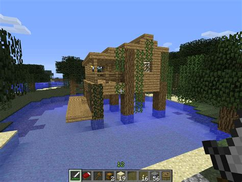 Minecraft Tiki Hut Screen Shots Real Gaming Of Minecraft